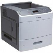 Imprimanta LEXMARK T654DN, 53 PPM, Duplex, Retea, 1200 x 1200, Laser, Monocrom, A4, Cuptor si Cartus Remanufacturat