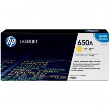 Cartus toner HP 650a Yellow, CE272A 15000 pagini, Original