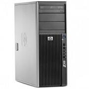 Gaming PC HP Z400 WorkStation, Intel Xeon Dual Core W3503, 2.4Ghz, 16Gb DDR3 ECC, 500Gb HDD, DVD-RW, GTX 1050 2GB GDDR5 128bit