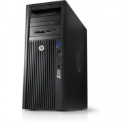 Workstation HP Z420, CPU Intel Xeon E5-2620 V2 2.10GHz-2.60GHz HEXA Core, 48GB DDR3 ECC, 2TB HDD + 1TB HDD, nVidia Quadro 4000/2GB GDDR5 256biti