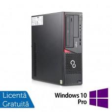 Calculator Refurbished FUJITSU SIEMENS E720, Desktop, Intel Core i3-4130, 3.40GHz, 8GB DDR3, 500GB SATA, DVD-ROM + Windows 10 Pro