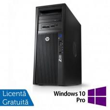 Gaming Workstation HP Z420, CPU Intel Xeon E5-2620 V2 2.10GHz-2.60GHz HEXA Core, 32GB DDR3 ECC, SSD 240GB + 2TB HDD, nVidia GeFo GeForce GTX 1060 + Windows 10 Pro 64 biti, Refurbished