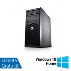 Calculator Dell 780 Tower, Intel Pentium E5300 2.60GHz, 2GB DDR3, 160GB SATA, DVD-ROM + Windows 10 Home