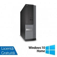 Calculator DELL Optiplex 3020 SFF, Intel Core i5-4570s 2.90 GHz, 4GB DDR3, 500GB SATA, DVD-ROM + Windows 10 Home