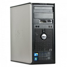 Calculator Dell OptiPlex 780 Tower, Intel Pentium Dual Core E6700 3.20GHz, 2GB DDR2, 250GB SATA, DVD-RW