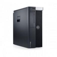 Workstation DELL Precision T3610 Intel Xeon Hexa Core E5-2620 V2 2.10GHz-2.60 GHz 15MB Cache, 16GB DDR3 ECC, 500GB HDD SATA, Placa Video Nvidia Quadro 2000 1GB/128biti
