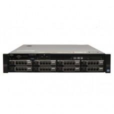 Server Dell PowerEdge R720, 2x Intel Xeon Octa Core E5-2670, 2.60GHz - 3.30GHz, 384GB DDR3 ECC, 2 x SSD 480GB SATA + 6 x 4TB HDD SATA, Raid Perc H710 mini, Idrac 7 Enterprise, 2 surse HS