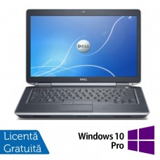 Laptop DELL Latitude E6430, Intel Core i5-3320M 2.60GHz, 16GB DDR3, 240GB SSD, DVD-RW, 14 Inch + Windows 10 Pro