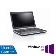Laptop DELL Latitude E6520, Intel Core i7-2640M 2.80GHz, 8GB DDR3, 500GB SATA, DVD-RW, 15 Inch + Windows 10 Pro