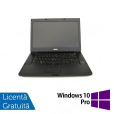Laptop DELL Latitude E6500, Intel Core 2 Duo T9400 2.53GHz, 4GB DDR2, 160GB SATA, DVD-RW, 15 Inch + Windows 10 Pro