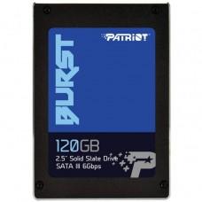 SSD Patriot Burst, 120GB, SATA-III, 3D NAND, 2.5 inch