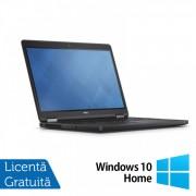 Laptop DELL Latitude E5250, Intel Core i5-5300U 2.30GHz, 16GB DDR3, 500GB SATA, 13 Inch + Windows 10 Home