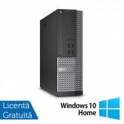 Calculator DELL OptiPlex 7020 SFF, Intel Core i7-4770 3.40GHz, 8GB DDR3, 500GB SATA, DVD-ROM + Windows 10 Home