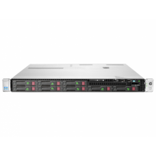 Server HP ProLiant DL360e G8, 1U, 2x Intel Octa Core Xeon E5-2450L 1.8 GHz-2.3GHz, 128GB DDR3 ECC Reg, 2x SSD 240GB SATA + 6x 900GB SAS/10k, Raid Controller HP SmartArray P822/2GB, iLO 4 Advanced, 2x Surse HOT SWAP