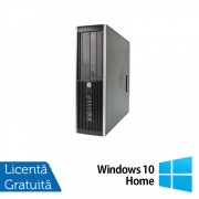 Calculator HP Compaq Elite 8300 SFF, Intel Core i5-3470 3.20GHz, 8GB DDR3, 500GB SATA, DVD-RW + Windows 10 Home