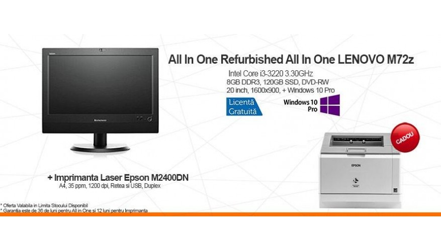 All In One Refurbished + Cadou